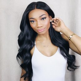 Long Length Loose Wave Indian Human Hair Full Lace Wigs with 130 Density Glueless Lace Front Wigs for Black Women