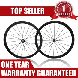 Wholesale-Many Colors 38mm carbon wheels full carbon road racing bike clincher Tubular wheels 700c bicycle carbon road wheelset