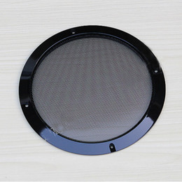 5 inch black speaker car subwoofer speaker grille diy audio quality decoration ring,free shipping