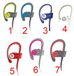 Wholesale Best Used Beats powerbeats wireless Active collection headphone noise Cancel Headphones Bluetooth Headset Refurbished with seal retail box