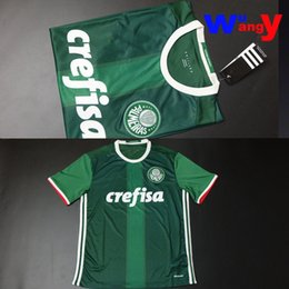 Wholesale Free ship Palmeiras home fans L Barrios jersey have video show shirts