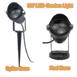 Wholesale 3W AC85 V V LED Garden Spike light IP65 Waterproof Projector Path Landscape Spot Light Security Lawn Light