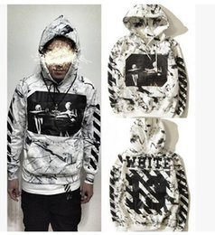 Wholesale 2016 Men And Women Hooded Sweater Coat Fashion OFF WHITE Religion Twill Hoodies Sweatshirt Lovers Hip Hop Sports Pullovers