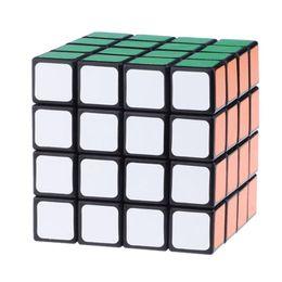 Brand New Lanlan LL Intelligence Test 4x4x4 Magic Cube Speed Puzzle Cubes Educational Toys - Black