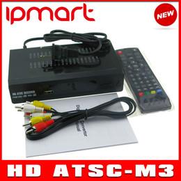Wholesale ATSC TV BOX Mexico USA Canada Korea ATSC M3 HD TV Receiver Full HD p Digital TV Converter Box