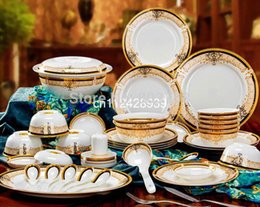 Wholesale bone china dinner set ceramic dinner set china tableware porcelain dinnerware set