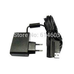 Câble d'alimentation pour kinect en Ligne-AC Power UE Câble d'alimentation Cordon adaptateur pour appareil photo Microsoft Xbox 360 Kinect Sensor adaptateur câble tv