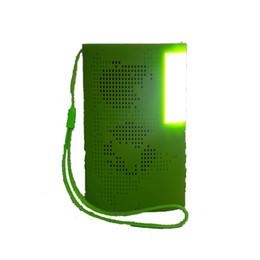 Mini Wireless Bluetooth Speaker Outdoor Surround Music Player Audio Sound with Photo Light Book Lights