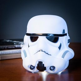 Wholesale 3D Minions Star Wars Mood Light Lights LED Table Lamp Fashion Stormtrooper Quiet Sleep Nightlight For Children Best Gift