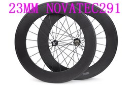 carbon road wheels 88 mm wheels width 23 mm NOVATEC 291carbon clincher 700C road bike wheels