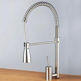 Wholesale rotary tap vegetable washing sink faucet copper plumbing corrosion water saving environmental protection kitchen faucet