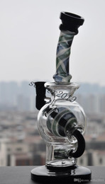 Wholesale Ball new high quality colored ball rig glass bongs joint size mm recycle oil rigs egg febs