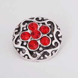 20pcs noosa chunk Metal crystal rhinestone Snap Button Charm Button Snaps Jewelry NOOSA chunk ginger snaps for noosa bracelet