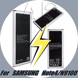 Wholesale China Battery For Phones - For Samsung Note 4 Battery 3220 mAh For Cell Phone Batteries For N9100 For N910F N910H N910S N910U N910L Not For China Version