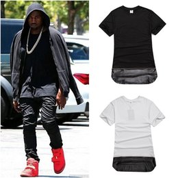 Wholesale 2016 streetwear mens hip hop shirt fashion designer clothes urban clothing eminem hoodies blank gold chain leather t shirt