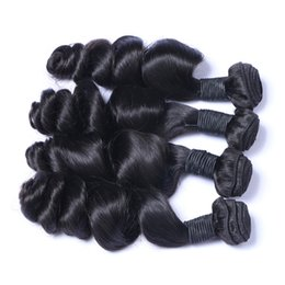 8A Quality Peruvian Loose Wave Unprocessed Human Hair Extensions 8-30inch Natural Black Color Soft Thick Dyeable 3pcs lot Free Shipping
