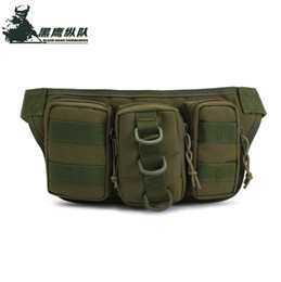 Waterproof Tactical Men Waist Bags Hip Package Pochete Outdoor Sport Casual Fanny Pack Hiking Travel Large Army Waist Pack