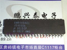 Wholesale AMD AM9080ACC D8080A Bit microprocessor old cpu Collect Pin Ceramic package IC CDIP40 Chips