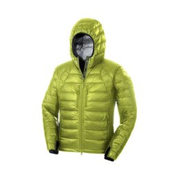 Wholesale 99 Good Reviews Brand New Men Hybridge Lite Hooded Jacket Fall Winter Ultra Light Duck Down Travel Mountaineer Portable Warm Coat