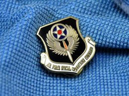 Wholesale Russian Military Uniform American Metal Badges Us Air Force Usaf Special Operations Command Afsoc Metal Badges Badge Brooch