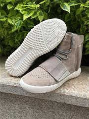 Wholesale Original sole surface top quality genuine Kanye Boost Low Coconut light shoes and shoes for men and women color