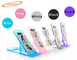 Wholesale Universal Cell Phone Folding Adjustable Stand Holder Support for All Models of Mobile Phone and Tablet of iPhone iPad Samsung Huawei Xiaomi