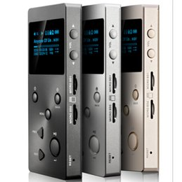 Wholesale Original XDUOO X3 Portable Resolution Lossless music player HIFI Digital Player JZ4760B CS4398 Support DSD APE FLAC ALAC WAV WMA OGG MP3