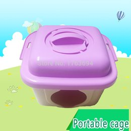 2017 Hamster House For Manager Recommended New Free Shipping Convenient Portable Packed Hamster Cage Pp Material Accessories