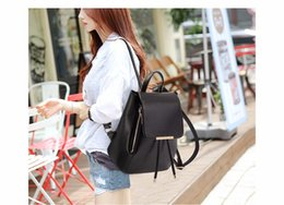 Women Backpack High Quality PU Leather  Escolar School Bags For Teenagers Girls Top-handle Backpacks Herald Fashion