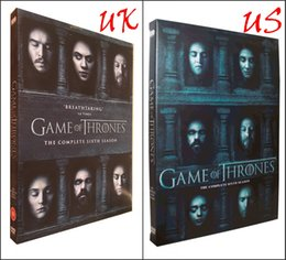 Wholesale Exclusive New Arrival Game of thrones season Six UK US version disc set IN STOCK price dhl