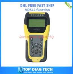 Wholesale DHL FREE VDSL2 Tester ADSL WAN amp LAN Tester xDSL Line Test Equipment DSL Physical layer test ST332B METER