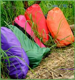 Wholesale OEM service outdoor camping bag banana air sleeping bag banana shape bean bag travelling camping sleeping bag