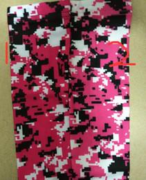 wholesale 300pcs new design cancer ribbon arm sleeve gray purple blue Titanium Baseball Compression Sleeve