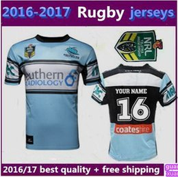 Wholesale New Thai quality Cronulla Sharks rugby jerseys Zealand best Australia league rugby jerseys shirts size S XL