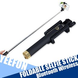 Foldable Selfie Stick Monopod for Iphone & Android Selfie Monopod Wireless Cable Selfie Stick