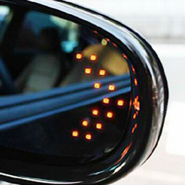 Wholesale Hot new SMD LED Arrow Panel For Car Rear View Mirror Indicator Turn Signal Light