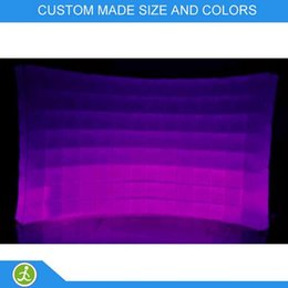 Portable inflatable photo booth wall LED light event inflatable wall