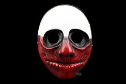 Person Type Mask Halloween Horror Payday2 Theme Resin Masks Of The Shape Of The Old Man Free Shipping