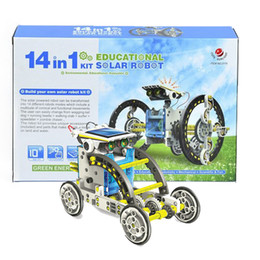 Wholesale Zorn toys Solar Robot Environmental science series DIY creative OWI in puzzle Toys Children s Day