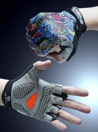 Hot summer bike riding gloves half finger cycling gloves for men and women riding equipment