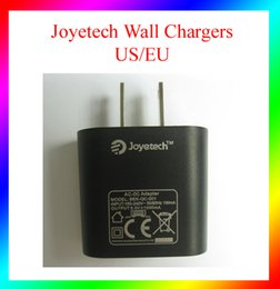 Wholesale Wall Chargers Joyetech Wall Chargers EU US Plug wall Adaptor for joytech ego One Kit usb recharger istick w