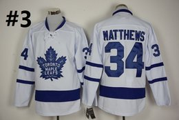 Wholesale Top Quality New Men Toronto Maple Leafs Ice Hockey Jerseys Cheap Auston Matthews blue white Jersey Authentic Stitched Jerseys