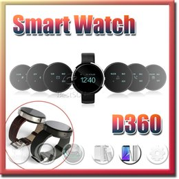 Wholesale 2015 D360 Moto Bluetooth smart watch Waterproof PSG Pedometer Sports Wrist Watch for IOS Android Smart phones multi Language