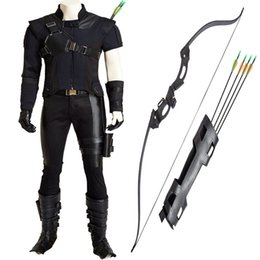New Captain America 3 Clinton Hawkeye Goliath Ronin Cosplay Costume Custom Made Halloween Full Set Chrismas