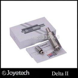 Wholesale Original Joyetech Delta II Atomizer ml Replaceable Coil Head Stainless Steel Delta Atomizer steel drum