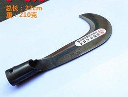 Outil de coupe incurvée à vendre-Faucille courbé machette faucille couteau bambou couteau fauchage forgé outils agricoles