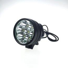 Wholesale Lumen C XM L T6 LED Bike LED Bicycle Lamp Light HeadLight Waterproof Aluminum alloy