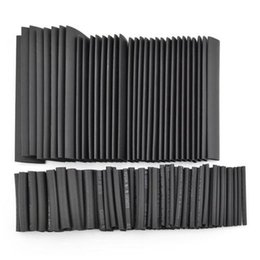 Wholesale 127 Polyolefin Heat Shrink Tubing Cable Tube Sleeving Kit Wrap Wire Set