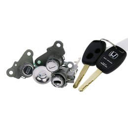 Wholesale Original Whole Types Honda Whole Old Fit Cylinders Set With Keys applied directly to Honda Lock change directly Auto Tools Parts