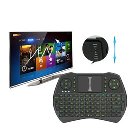Wholesale Air Mouse Combo G Mini i9 Wireless Keyboard Touchpad combo with interface adapter for PC Pad TV Box Xbox360 PS3